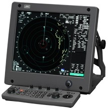 "JMA-5312, 10kW X-band Radar with 6"" scanner"
