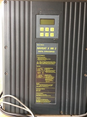 Navigat X MK 2 with gyrosphere, tested , in good working condition