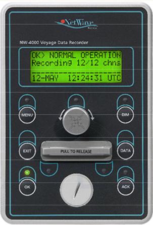 Netwave NW-4000 sVDR Bridge control unit