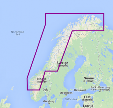 11P+ NORWAY NORTH-WEST