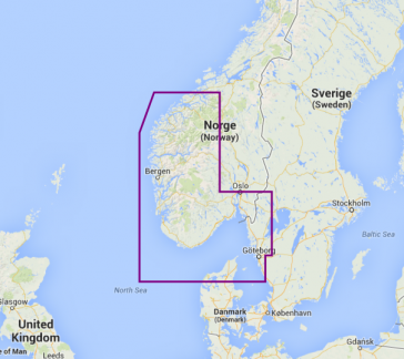 12P+ NORWAY SOUTH-WEST