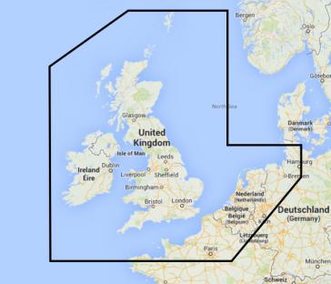 UK, Ireland, Holland